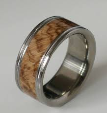 Unique Mens Wedding Rings by Best 25 Mens Wooden Wedding Bands Ideas On Pinterest Wood