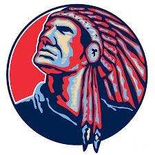 native american indian chief retro digital art by aloysius patrimonio