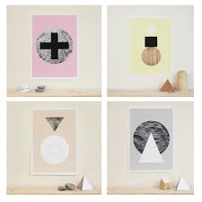 graphic textures posters by becky kemp for sketch inc design milk