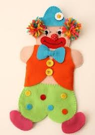 30 best felt clown ornaments images on clowns felting