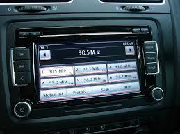 genuine vw rcd 510 6 cds head unit stereo euro car performance