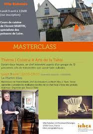 cours de cuisine martin masterclass cours de cuisine de florent martin iehca