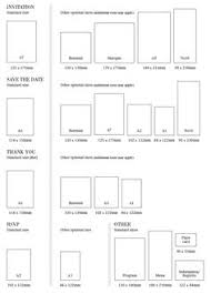 wedding invitations size invitation sizes also on this page envelope styles sizes