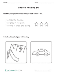 kindergarten reading worksheets education com