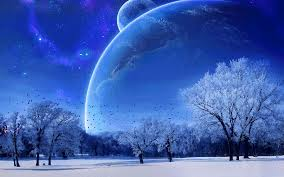 santa s sleigh flying a magical winter land animation a
