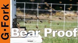 bearproof a beehive beekeeping 101 gardenfork youtube