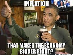 Economics Meme - obama has as much understanding of economics and the american