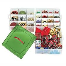 ornament storage boxes snap and stack box with dividers