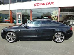 black audi used phantom black audi a5 for sale cheshire