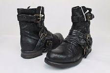 ugg womens finney boots black ugg australia buckle ankle boots for ebay