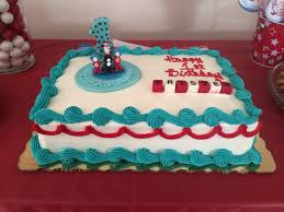 dr suess birthday cake cakes from publix topper from estys