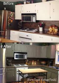 Painted Kitchen Cabinets Before After 130 Best Annie Sloan Chalk Painted Kitchens Images On Pinterest