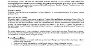 Medical Assistant Job Duties Resume by Medical Assistant Job Duties Registered Medical Assistant Job