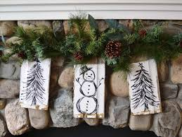 diy easy outdoor christmas decorations ne wall
