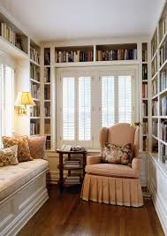 comfy library chairs 15 small home libraries that make a big impact comfy window and