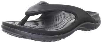 crocs men u0027s 12058 duet athens flip flop black graphite men u0027s 4 m