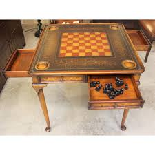 theodore alexander game table w chairs upscale consignment