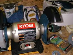 Ryobi Bench Grinder Price Tools Stone Carvers Use Tiki Central