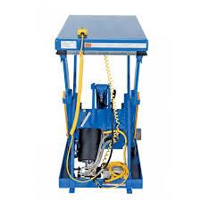 Hydraulic Scissor Lift Table by Vestil Ehlt 2448 3 43 Electric Hydraulic Scissor Lift Table 24