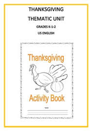 thanksgiving thematic unit primary for busy teachers