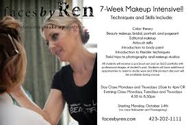 make up classes for faces by ren