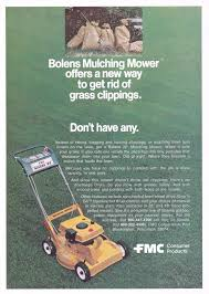 bolens lawn equipment advertisement gallery