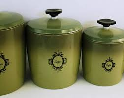 west bend canisters etsy