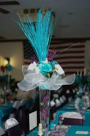 25 turquoise centerpieces ideas on teal wedding