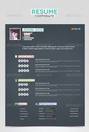 Resume Templates For Indesign 27 Creative Photoshop U0026 Indesign Resume Templates Wakaboom