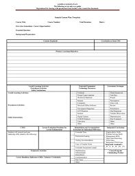 preschool lesson plan template book blank printable elipalteco