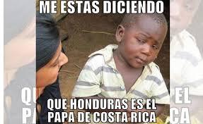Costa Rica Meme - el baile de honduras a costa rica arrasa con los memes diez