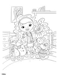 free printable doc mcstuffins toy hospital coloring pages