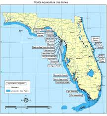 Fla Map Aquaculture Submerged Land Leasing Aquaculture Business