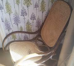 Rocking Chair Seat Repair Vintage Bentwood Rocking Chair Makeover