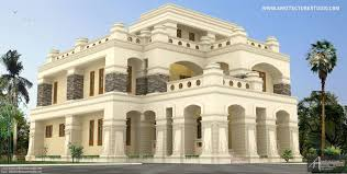 luxury house design 6550 sq ft luxurious house design in kerala colonial style