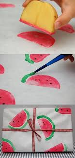 printable one direction wrapping paper watermelon wrapping paper diy wrapping paper potato print and diy
