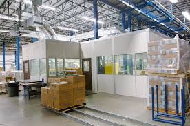 Prefabricated Office Style Warehouse Offices Modular Office In Plant Offices
