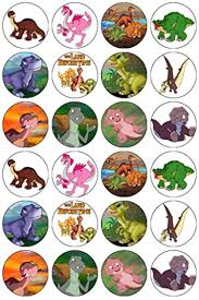 24 the land before time dinosaurs edible wafer paper cup cake