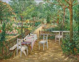 file summer in the garden theodor hörmann jpg wikimedia commons