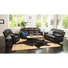 leather living rooms castle fine furniture abbyson westwood leather 3 piece living room reclining set free