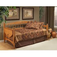 hillsdale furniture dalton twin wood daybed with tray oak