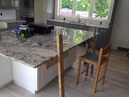 kitchen granite island granite island countertop overhang help