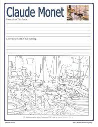 41 best claude monet art project for kids images on pinterest