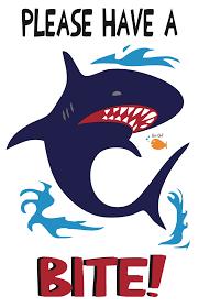 printable shark silhouette print free shark silhouette