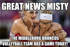 Memes Broncos - misty volleyball memes quickmeme