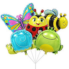 large birthday balloons partigos large insect balloons for kids birthday party