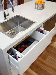 Sink Drawer Houzz - Kitchen sink drawer