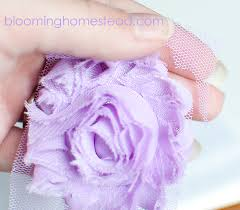 how to make baby headbands with flowers diy baby headband page 3 of 4 blooming homestead