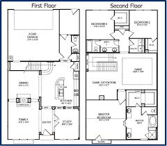 2 story home plans uncategorized house plan garage apartment sensational with
