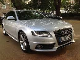 audi a4 avant 2 0 tdi s line 170 bhp 2009 reg 1 owner from new